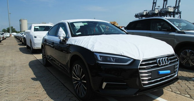 Ngắm dàn xe Audi A5 phục vụ APEC 2017 vừa về Việt Nam