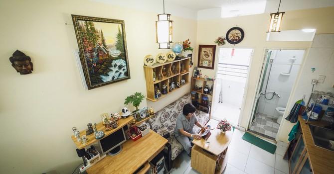 Cận cảnh những căn hộ chỉ rộng 20 m2 ở Sài Gòn