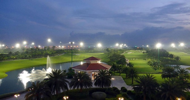 Sân golf Tân Sơn Nhất uy hiếp an toàn bay