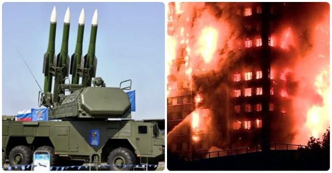 Thế giới 24h: Tháp chung cư ở London bốc cháy như đuốc, Nga triển khai tên lửa giáp biên giới Triều Tiên