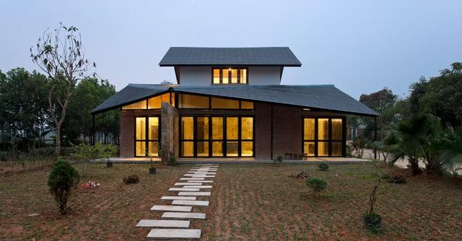 Vẻ khác lạ của ngôi nhà Hà Nội 120 m2 xây hết 600 triệu