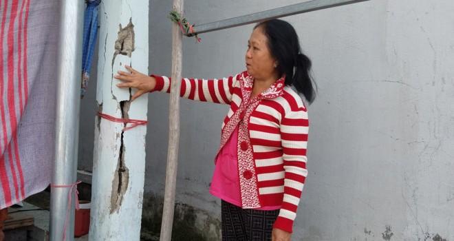 Dân cạnh công trình chống ngập 10.000 tỷ ở Sài Gòn lo sập nhà