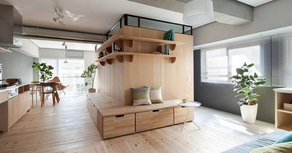Học cách bài trí nội thất căn hộ nhỏ ngọn, tinh tế của người Nhật