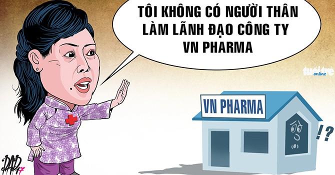 Bộ trưởng Tiến lên tiếng về việc em chồng làm ở VN Pharma