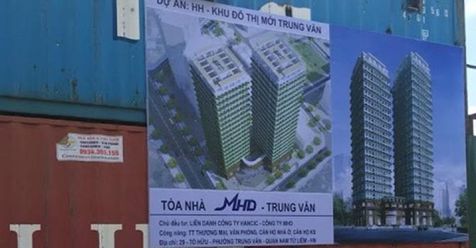 Hà Nội chấp thuận xây dựng Tòa nhà MHD Trung Văn