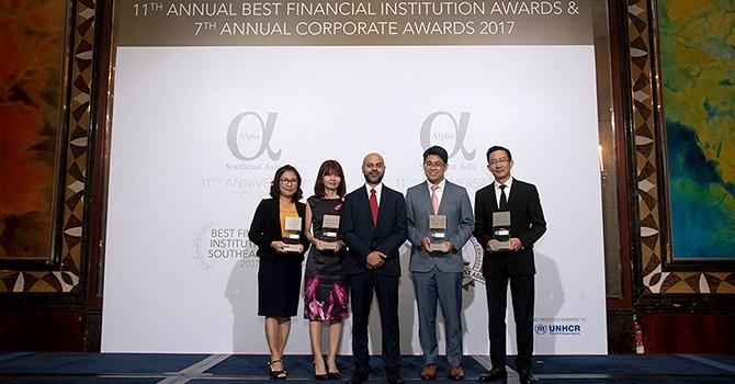 SHB tiếp tục được vinh danh là ngân hàng SME tốt nhất Việt Nam 2017