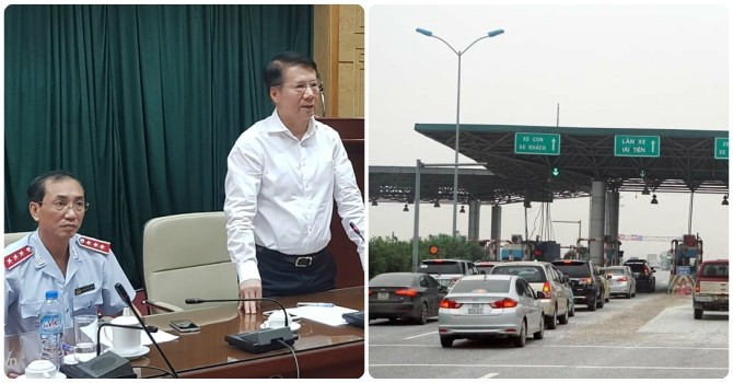 Công bố quyết định thanh tra Bộ Y tế, giảm phí cao tốc Pháp Vân - Cầu Giẽ