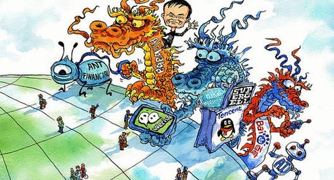 Khi Alibaba và Tencent bị thất sủng