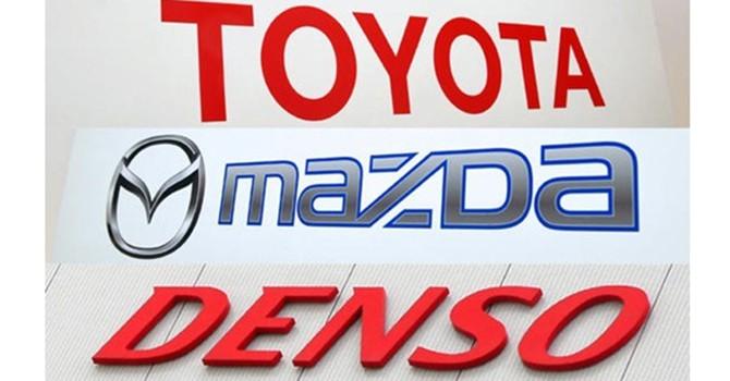 Toyota, Mazda, Denso lập liên minh ôtô điện