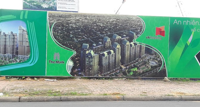 Tranh chấp tại dự án chung cư cao tầng The Mark,  nhà đầu tư Hàn Quốc kêu cứu