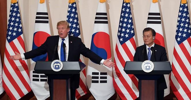 Mỹ dàn quân xung quanh bán đảo Triều Tiên