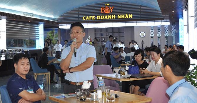 """""""Cà phê doanh nhân"""" – nơi Quảng Ninh tạo niềm tin đối với nhà đầu tư"""
