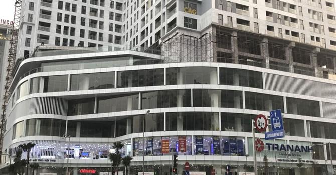 Cận cảnh các dự án địa ốc chưa hoàn thiện đã cho thuê mặt bằng