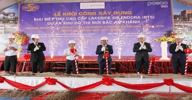 """Vinaconex và """"canh bạc"""" tại siêu đô thị 2,5 tỷ USD Splendora"""
