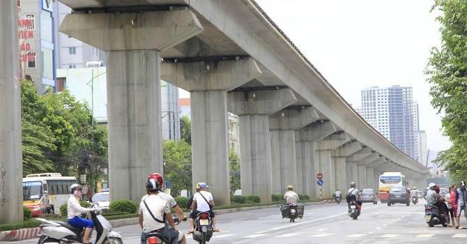 Dự án đường sắt Cát Linh - Hà Đông sẽ đi vào khai thác từ 31/12/2016
