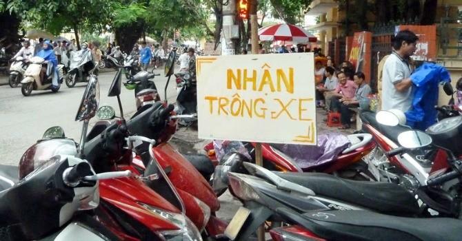 Hà Nội: Phạt gần 200 triệu đồng 37 điểm trông giữ xe gây bức xúc dư luận