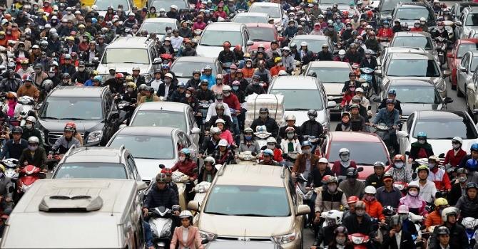 Từ 1/3, ô tô được chạy tối đa 60km/h trong khu đông dân cư