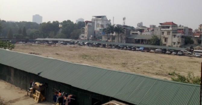 Hà Nội sắp có trung tâm thương mại trong công viên Thống Nhất