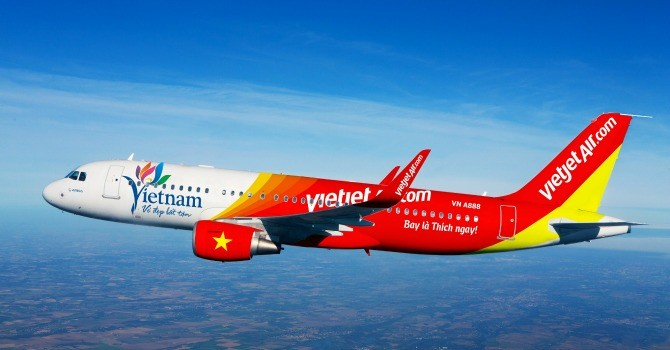Vietjet Air hoãn, hủy 10 chuyến bay do thời tiết xấu ở Hải Phòng