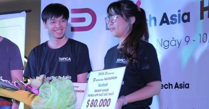 Hai nhà lập trình trẻ Việt Nam nhận gói tài trợ 80.000 USD từ Facebook