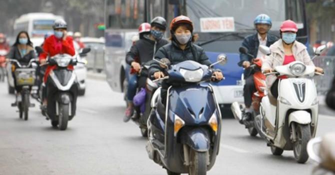 Ô nhiễm không khí Hà Nội đang trong tình trạng đáng lo ngại