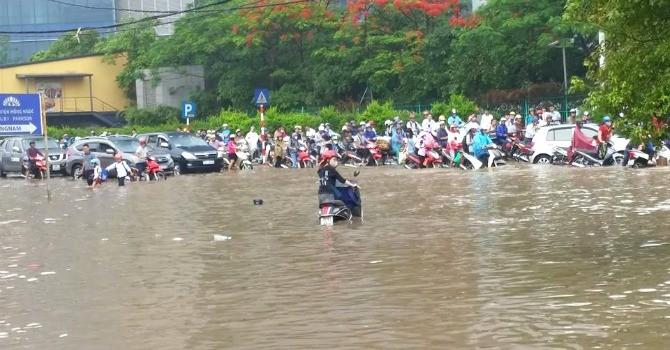 Hà Nội sẽ tiếp tục có mưa lớn trong ngày hôm nay (25/5)