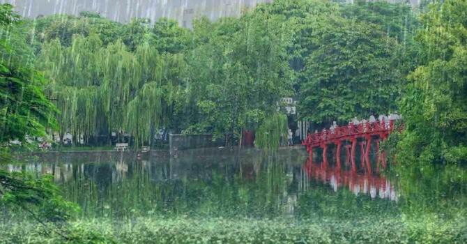 Hà Nội sẽ có mưa rào và dông trong 3 ngày tới