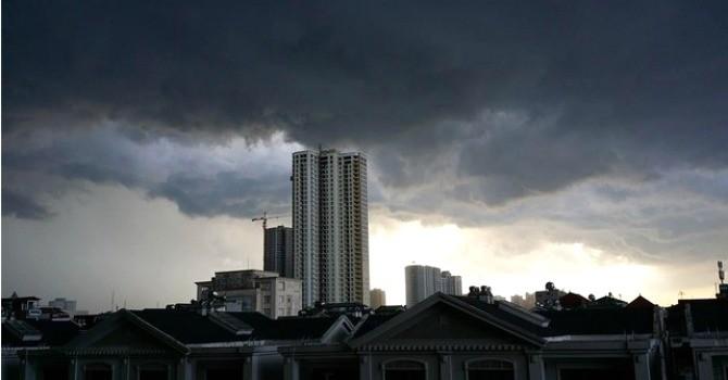 Ngày cuối tuần, Hà Nội có thể đón mưa dông vào chiều tối