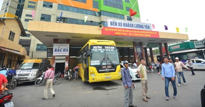 Hôm nay, chính thức đóng cửa bến xe Lương Yên