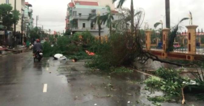 Nam Định thiệt hại hàng nghìn tỷ đồng từ cơn bão số 1