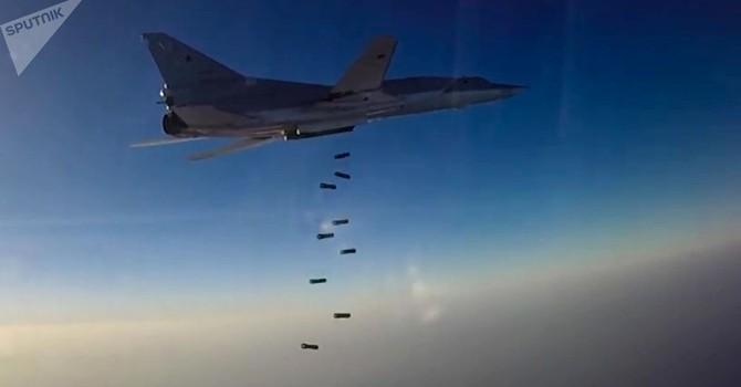 """Nguyên tắc của quân Nga ở Syria: """"Một mục tiêu - một quả bom"""""""