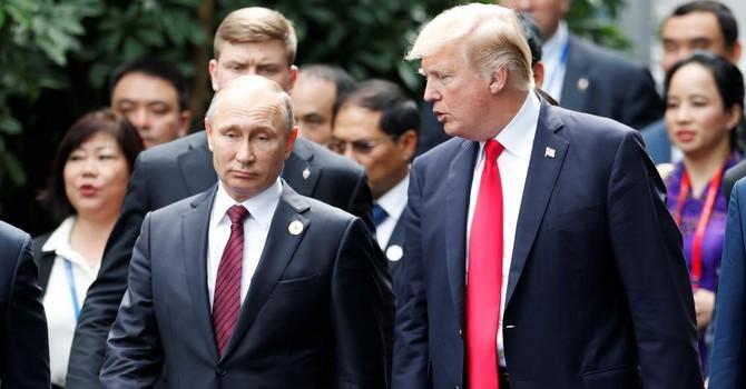 """Gặp ở Đà Nẵng, ông Putin mô tả ông Trump là """"người lịch sự và rất cởi mở trong giao thiệp"""""""
