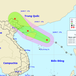 Xuất hiện áp thấp trên biển Đông, hướng về Quảng Ninh, Hải Phòng